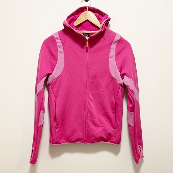 Nike Therma Fit Zip Up Hooded Jacket Pink